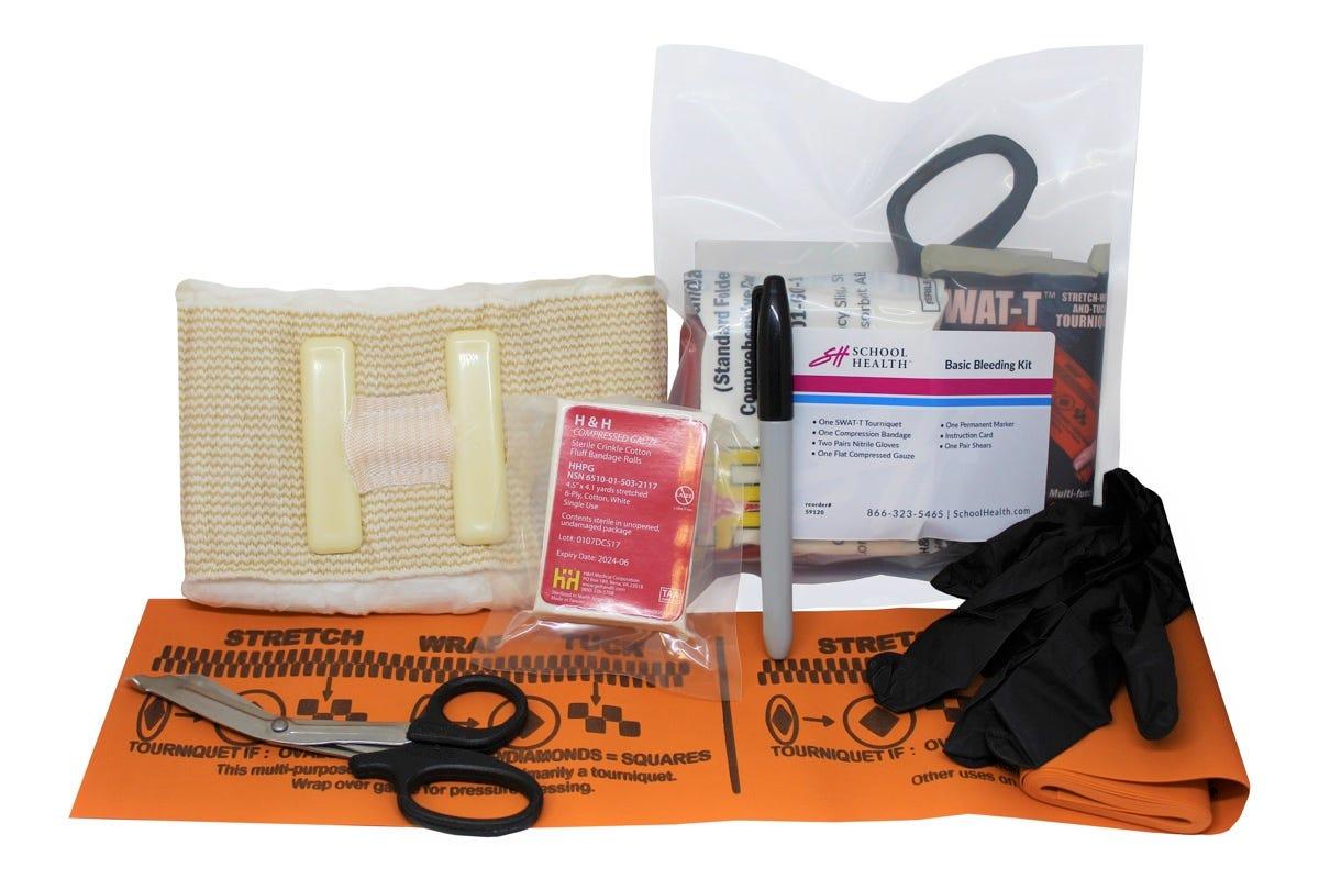 School Health Basic Bleeding Control Kit