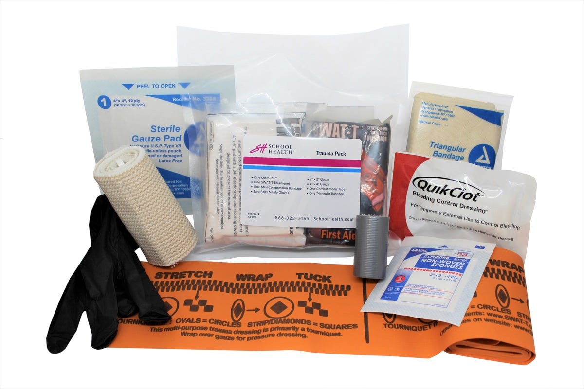School Health Individual First Aid Kit (IFAK)