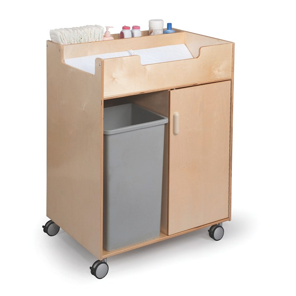 Easy Access Changing Cabinet