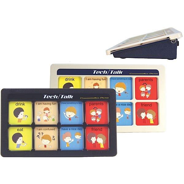 Tech/Talk 8 Message 8-Level Communication Devices