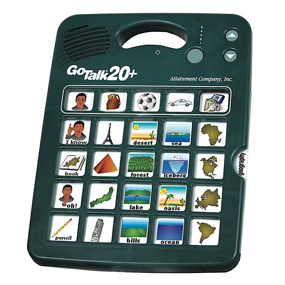 GoTalk 20+ with GoTalk Overlay Software