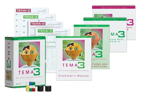 TEMA-3: Test of Early Mathematics Ability - Third Edition