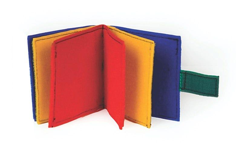 Multicolor Mini Fabric Book