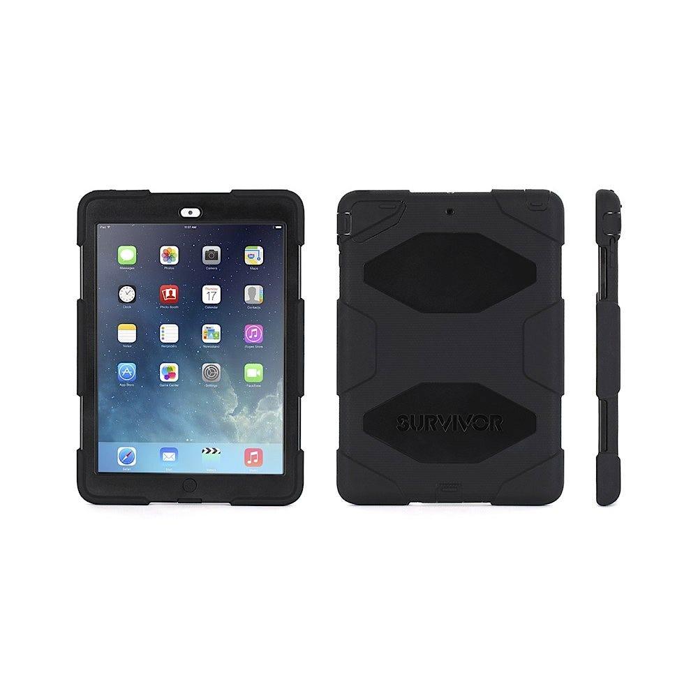 Survivor iPad Air / 5th Gen / 6th Gen Case: Black