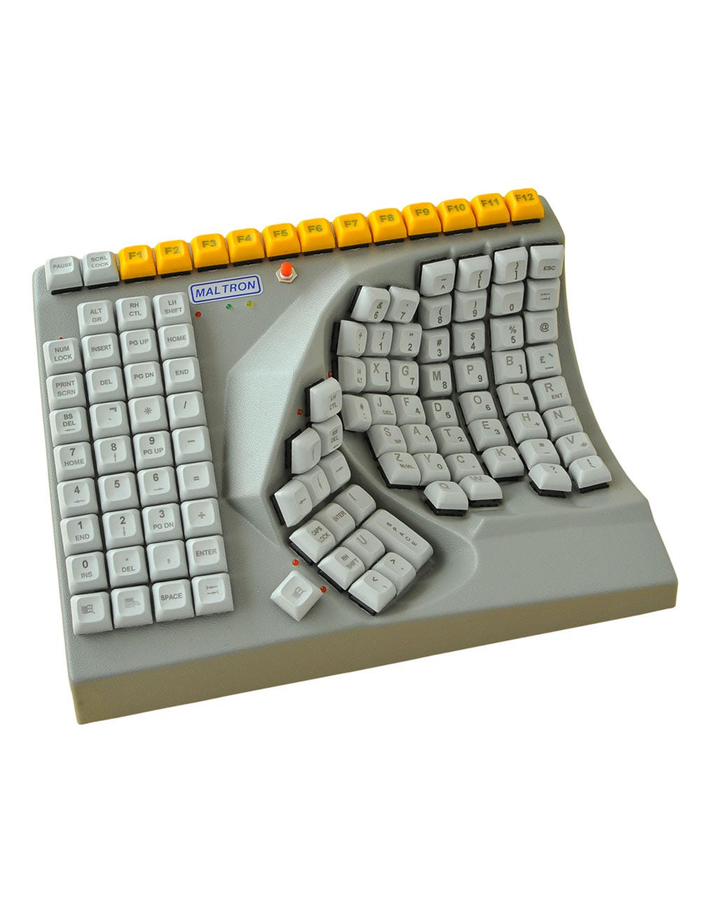 Maltron One-Handed Keyboards