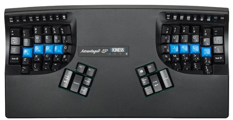Advantage2 Contoured Keyboard - Switchable