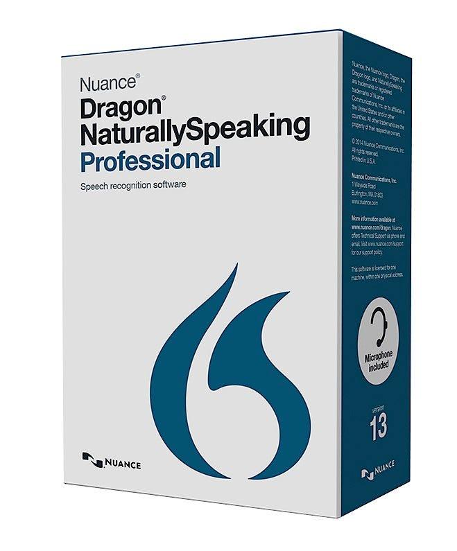 Dragon NaturallySpeaking 13 Professional