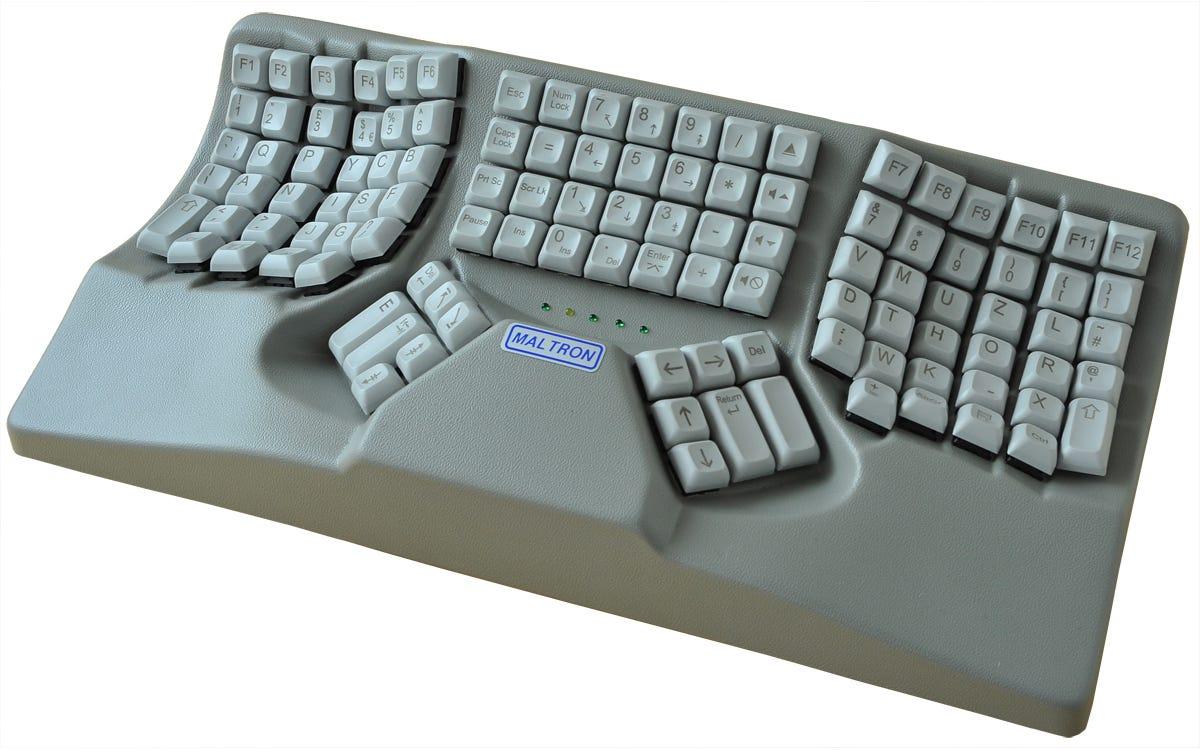 Maltron Dual Hand 3D Ergonomic Keyboard