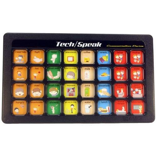Tech/Speak 32 Message 6-Level Communication Devices
