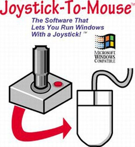 Joystick-To-Mouse Software