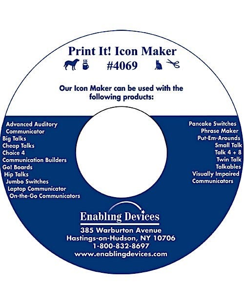 Enabling Devices Print It! Icon Maker