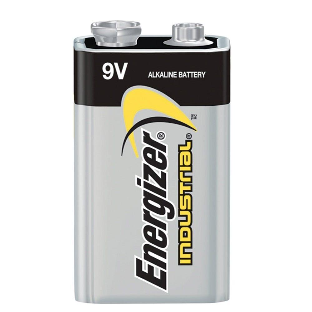 Energizer Industrial Alkaline 9 Volt Battery