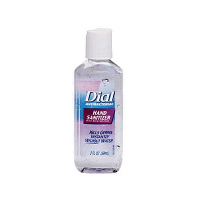 Dial Instant Hand Sanitizer and Dispenser