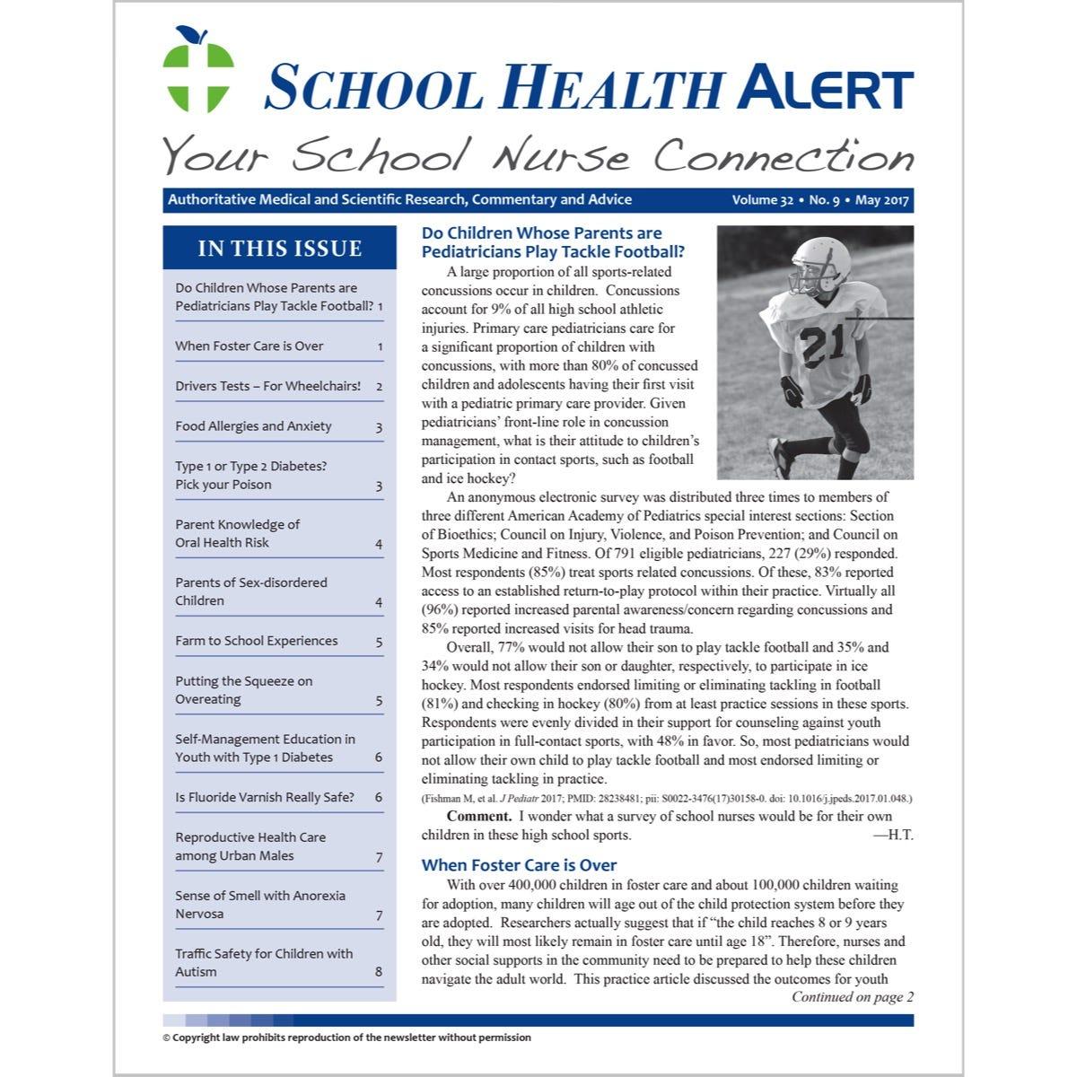 School Health Alert Subscription