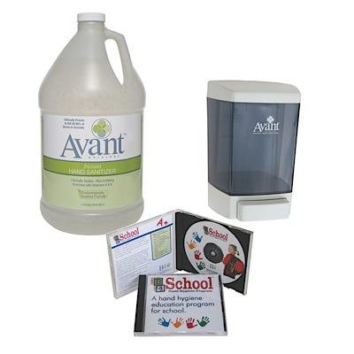 Avant Original Hand Sanitizing Program