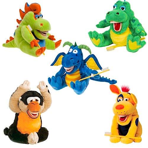 StarSmilez Large Oral Health Plush Teaching Puppets