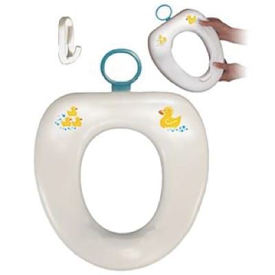 Contoured Cushie Tushie Padded Toilet Seat