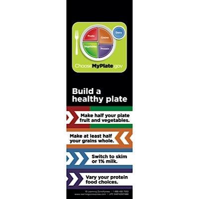 USDA MyPlate Magnets 10/Set