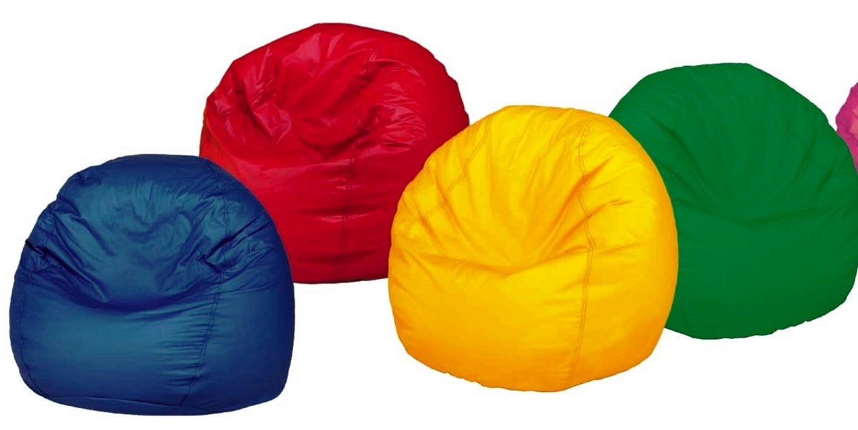 """Small Beanbag Chairs, 93"""""""
