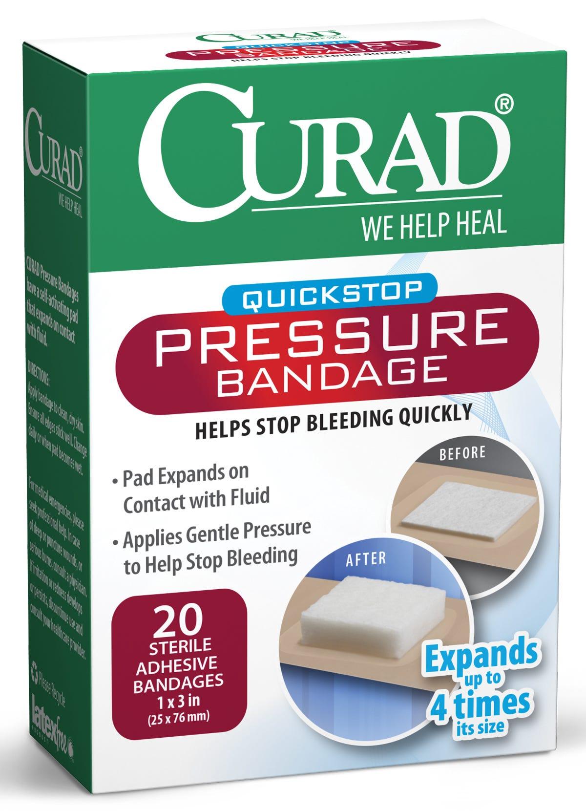 School Health Curad Pressure Adhesive Bandages