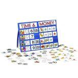 Time & Money Tabletop Pocket Chart