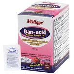 Medique Ban-acid Tablets 750mg Maximum Strength, Berry, 150/Bx