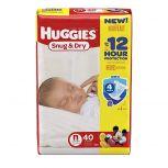 Huggies Snug & Dry Diapers in Cases