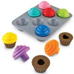 Smart Snacks Shape Sorting Cupcakes
