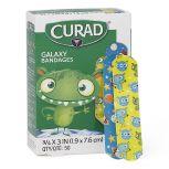 Curad Adhesive Bandages, Galaxy, 50/box
