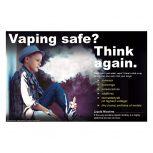 Vaping Safe? Boy