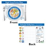 Kids Right-Sized Portion Plate Tear Pad