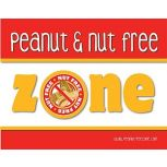Peanut and Nut Free Poster