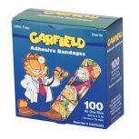 """CareBrand Garfield 3/4"""" x 3"""" Adhesive Strips"""