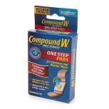 Compound W One Step Wart Remover Pads 14/box