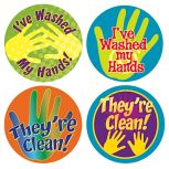 Hand Washing Stickers