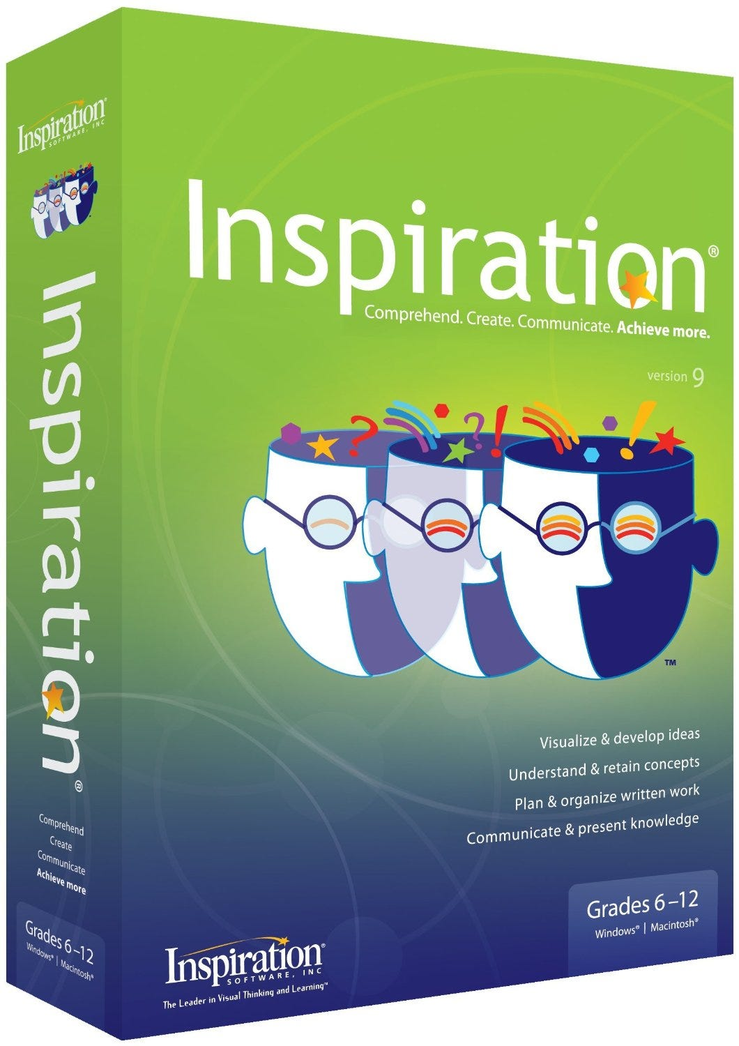 Inspiration Visual Learning Software