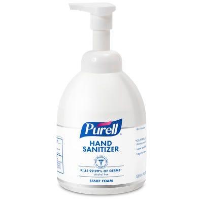 Purell Instant Hand Sanitizer Foam Non-Aerosol Pump Bottles