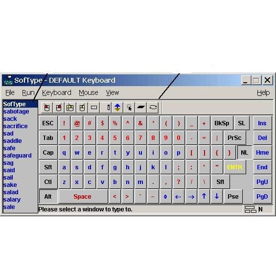 SofType On-Screen Keyboard