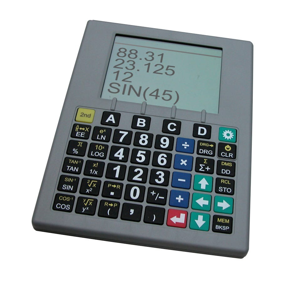 Sci-Plus 2300 Large Display Talking Scientific Calculator