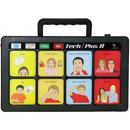 Tech/Plus 8 12-Level Communication Devices