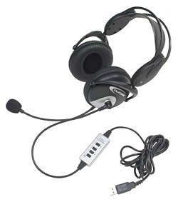 Califone 4100 Stereo USB Headset