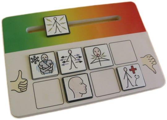 Whatz-It Color Scale Indicator