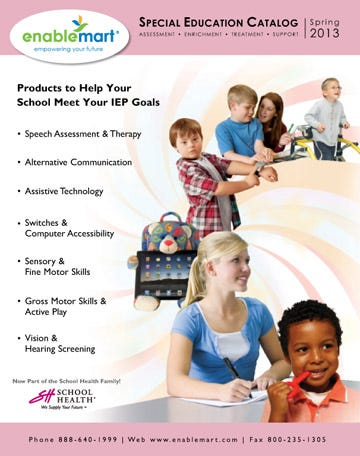 EnableMart's 2013 Special Education Catalog