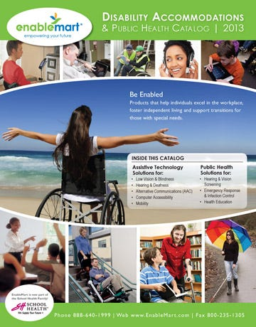 EnableMart 2013 Disability Accommodations & Public Health Catalog