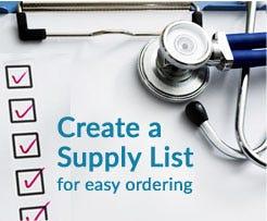 build supply list